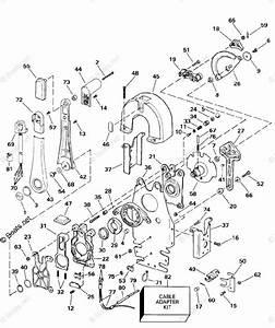 Omc Sterndrive Accessories 1998 Oem Parts Diagram For Remote Control -- Binnacle