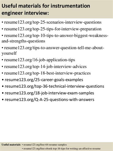instrumentation engineer resume pdf 28 images engineer
