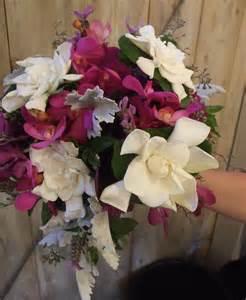 Wedding Bouquets with Gardenias