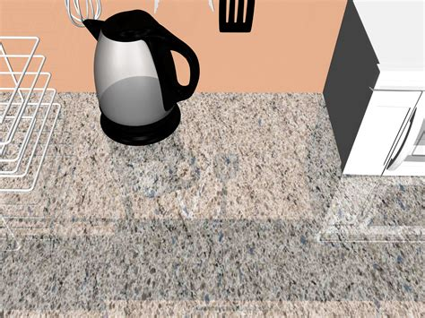 3 ways to clean granite countertops wikihow