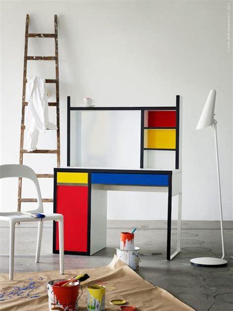 Ladari Di Design Mondrian Ikea Desk Ikea Hacks Escritorios Escritorio