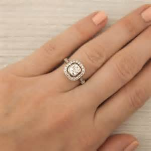 antique cushion cut engagement rings cushion cut antique cushion cut engagement rings