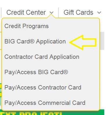 Because your menards® big card® is issued by capital one, you'll be able to link it to your existing capital one online account. www.hrsaccount.com/menards MyOnline Bill Payment Pay/Access BIG Card at Menards