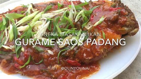 Kepiting saus padang merupakan salahsatu olahan berbahan kepiting yang sangat nikmat dan lezat. Resep Cara Membuat Ikan Gurame Saos Padang by @olinyolina ...