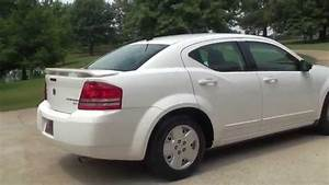 Hd Video 2010 Dodge Avenger Sxt White For Sale See