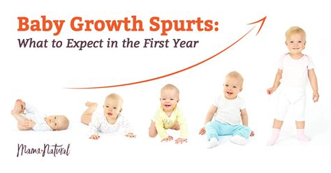 Baby Growth Spurts Newborns Infants Beyond Mama Natural