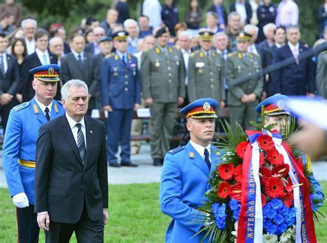 chambre de commerce franco serbe participation à la cérémonie nationale commémorative de