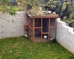Cabane Pour Poule : un poulailler avec un toit v g talis dans notre tete ~ Premium-room.com Idées de Décoration