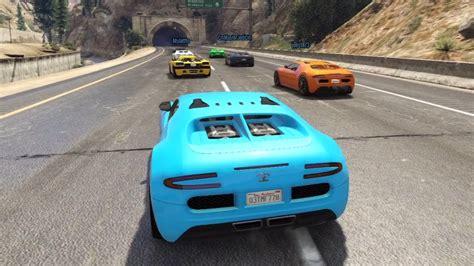 Gta 5 Where To Find Bugatti by Gta 5 Race With The Bugatti Veyron 1st