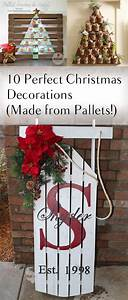10 Perfect Christmas Decorations (Made from Pallets