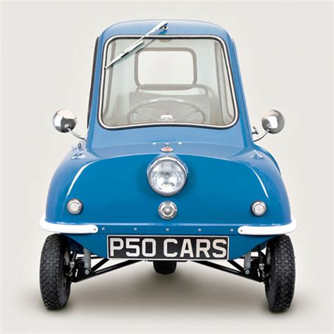 Peel P50 For Sale by P50cars Remanufacturing The World S Smallest Car