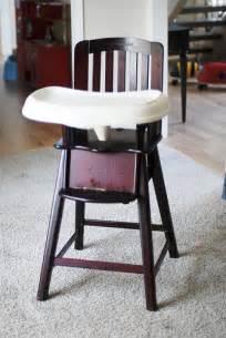 eddie bauer cherry wood high chair 509 420 3767 only flickr