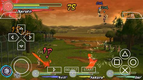 Naruto Shippuden Ultimate Ninja Heroes 3 Psp Iso Free