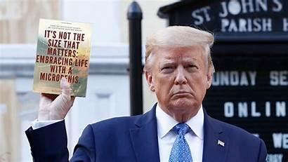 Trump Memes Bible Holding Funny He Meme