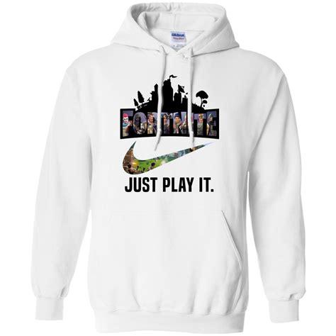 fortnite game  play  logo nike shirt hoodie men
