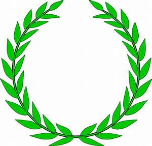 olive wreath clip art at clkercom vector clip art With laurel leaf crown template