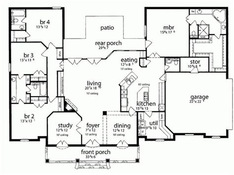 house plans with kitchen in front 17 best images about house plans on 3 car
