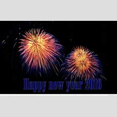 Happy New Year Fireworks 2016 Wallpapers, Pictures Photos