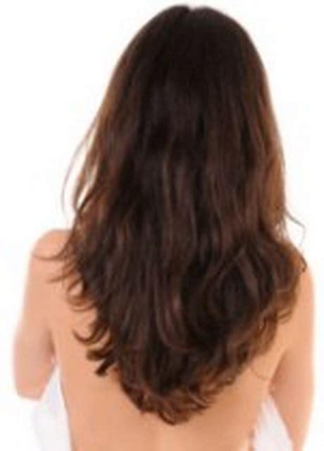 layered v shaped haircut
