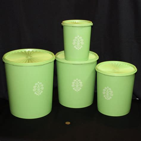 apple canisters for the kitchen vintage tupperware 39 servalier 39 storage canisters set of