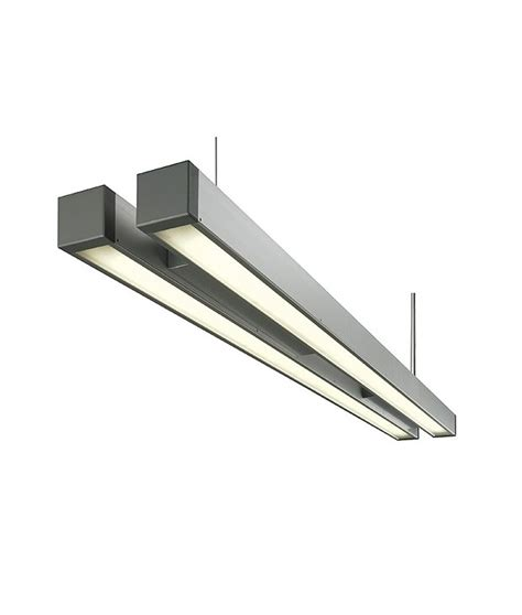 suspended fluorescent light fixture