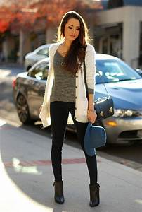 Cute Cardigan Outfit Ideas You Can Copy for Next Week - Outfit Ideas HQ