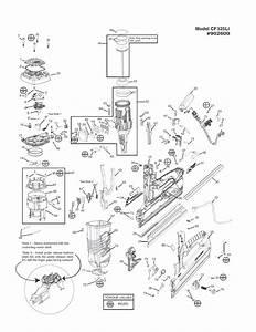 Paslode 902600 Parts List