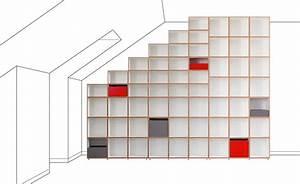 Regal Für Dachschräge : modulares regalsystem schallplatten regale ~ Michelbontemps.com Haus und Dekorationen