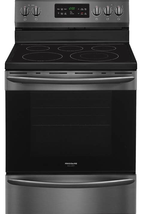 Frigidaire Gallery Black Stainless Electric Range   FGEF3036TD