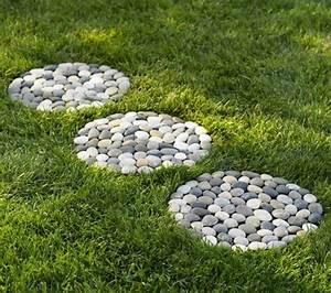 Gartenideen Mit Steinen : gartendeko basteln naturmaterialien 35 beispiele wie sie den garten aufpeppen ~ Indierocktalk.com Haus und Dekorationen
