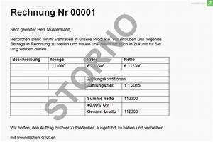 Rechnung Reklamieren : gewusst wie rechnung stornieren everbill magazin ~ Themetempest.com Abrechnung