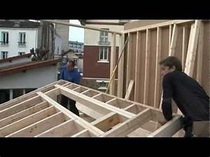 construire une maison ecologique n2 l39ossature bois With construire sa maison soi meme