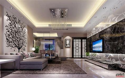 Home Zone Interior Design : اسقف جبس صالات وريسبشن ٢٠١٨ ديكورات جبسية حديثة للغرف