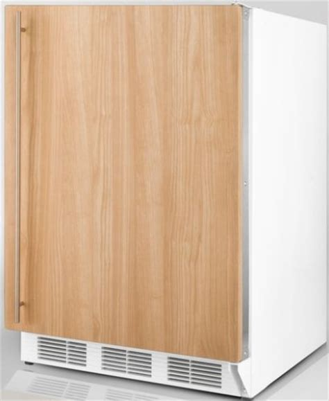 refrigerators that accept cabinet panels summit bi540if built in refrigerator freezer with