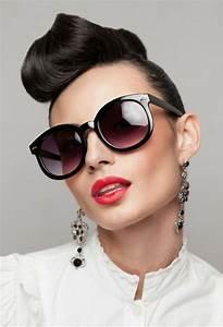 Coiffure Année 50 Pin Up : 1001 id es pour une coiffure vintage impressionnante ~ Melissatoandfro.com Idées de Décoration