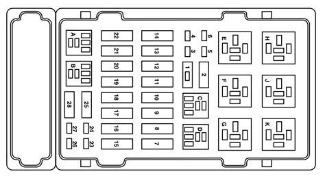 ford    fuse box diagram auto genius