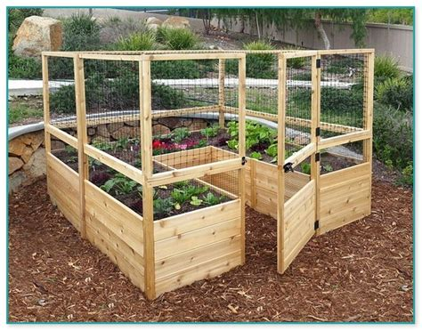 elevated garden beds  legs plans home improvement