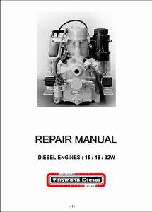 Farymann Diesel Engine 15 Repair Manual