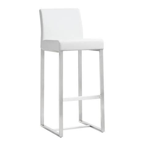 Modern Stools   Danube White Counter Stool   Eurway