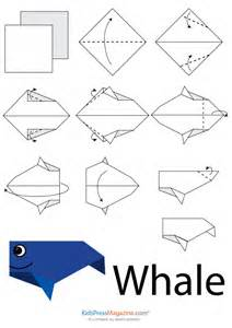 Easy Origami Instructions Animals