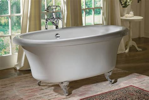 tub image jetted dual ended clawfoot tub with air bath
