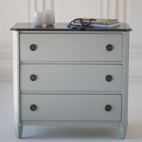 Simply Swedish Three Drawer Dresser By The Beautiful Bed