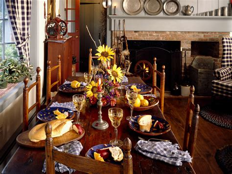 Country Style Dining Room Wallpapers And Images