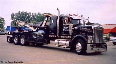 truck wreckers kenworth kenworth w 900b wrecker from ken 39 s towing of brantford