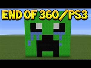 Minecraft Xbox 360 + PS3 - Discontinued NO More Updates ...