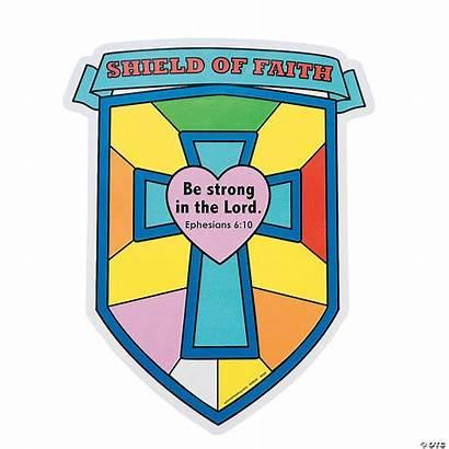 Faith Shield Own Cutouts Bible Strong Lord