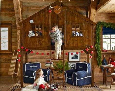 tree house bed  christmas decorations girls