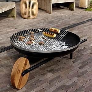 Brasero En Pierre : brasero barbecue mobilier de jardin ~ Nature-et-papiers.com Idées de Décoration