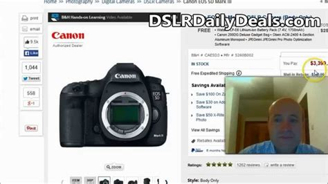 Canon 5d 3 Best Price Canon 5d Iii Price Best Deal Anywhere