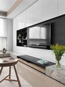 Tv Wand Design : 25 best ideas about tv console design on pinterest tv console tables rustic tv stands and ~ Sanjose-hotels-ca.com Haus und Dekorationen